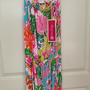 Lilly Pulitzer maxi dress from target
